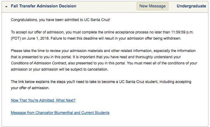 被UC放进waitlist怎么办?一篇appeal文书一周转正!