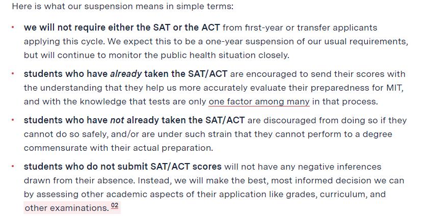 终于不头铁!麻省理工也宣布取消SAT!随时变化的美国大学政策该如何应对?