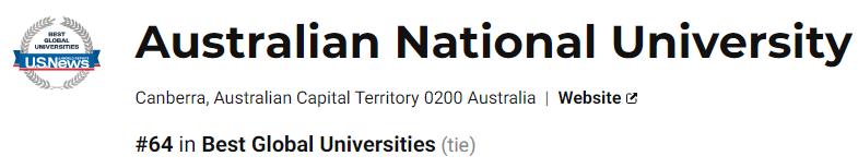 国立大学见过吗?澳洲第一所研究型大学学术制度指南!