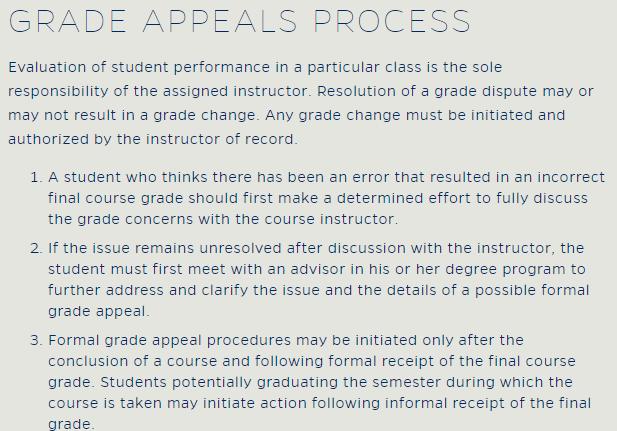 佛罗里达大学对成绩有何要求?学术成绩该如何申诉?